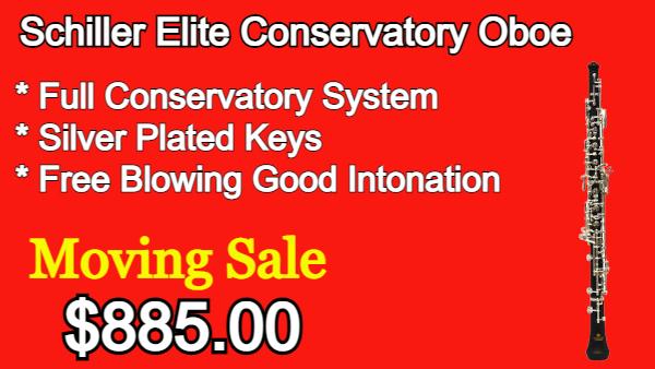 Schiller Elite Conservatory Oboe