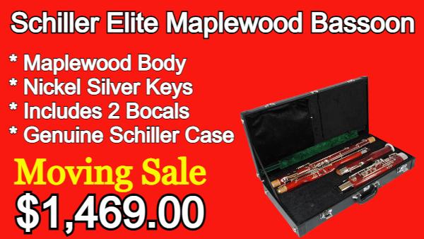 Schiller Elite Maplewood Bassoon