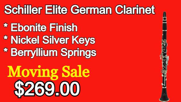 Schiller Elite German Clarinet