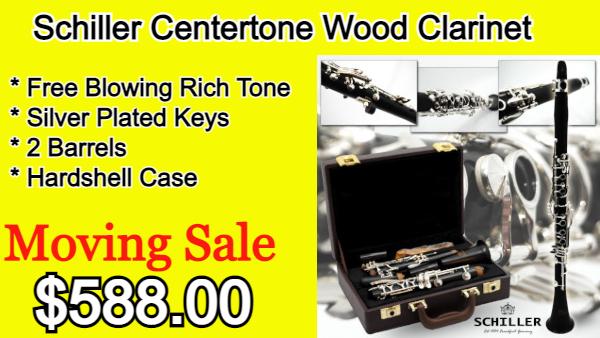 Schiller Centertone Wood Clarinet