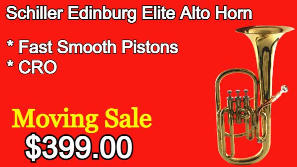 Schiller Edinburg Elite Alto Horn