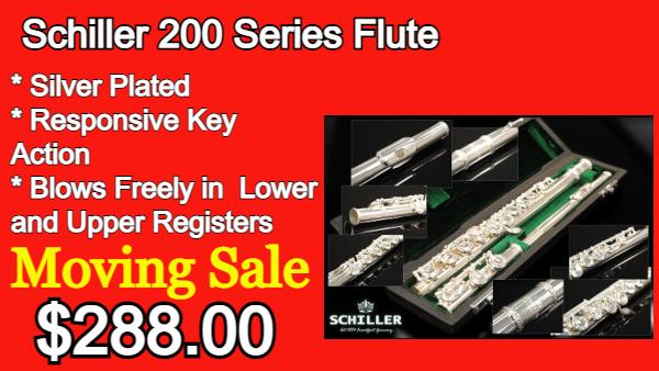 Schiller 200 Series Flute