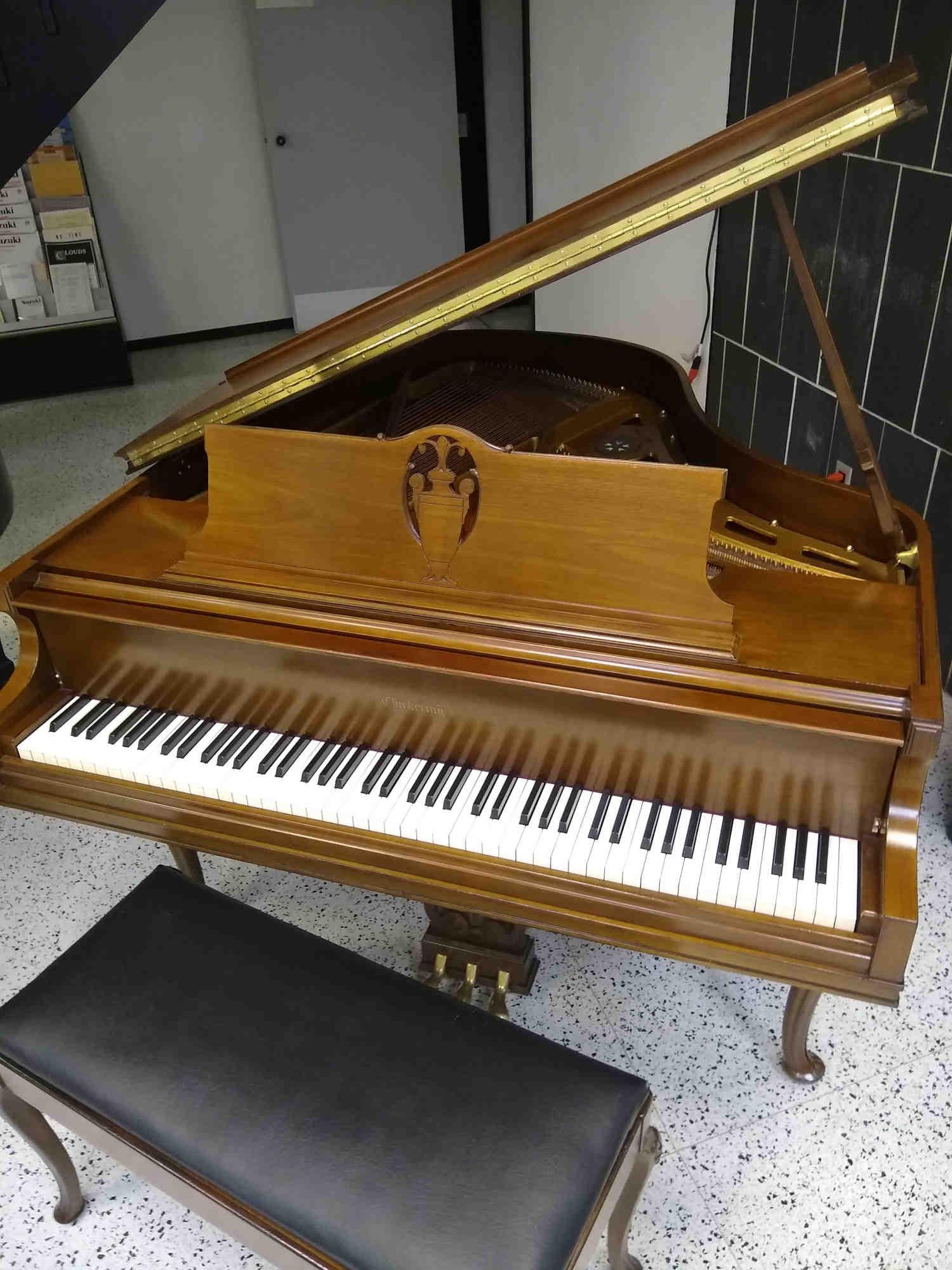Chickering Grand Piano Art Case French Brown Cherry Finish