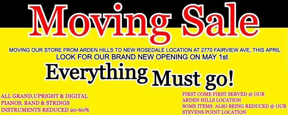 Jim Laabs Moving Sale - Everything Must Go!