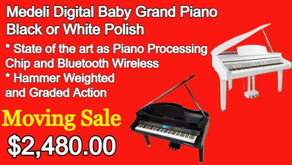 Medeli Digital Baby Grand Piano