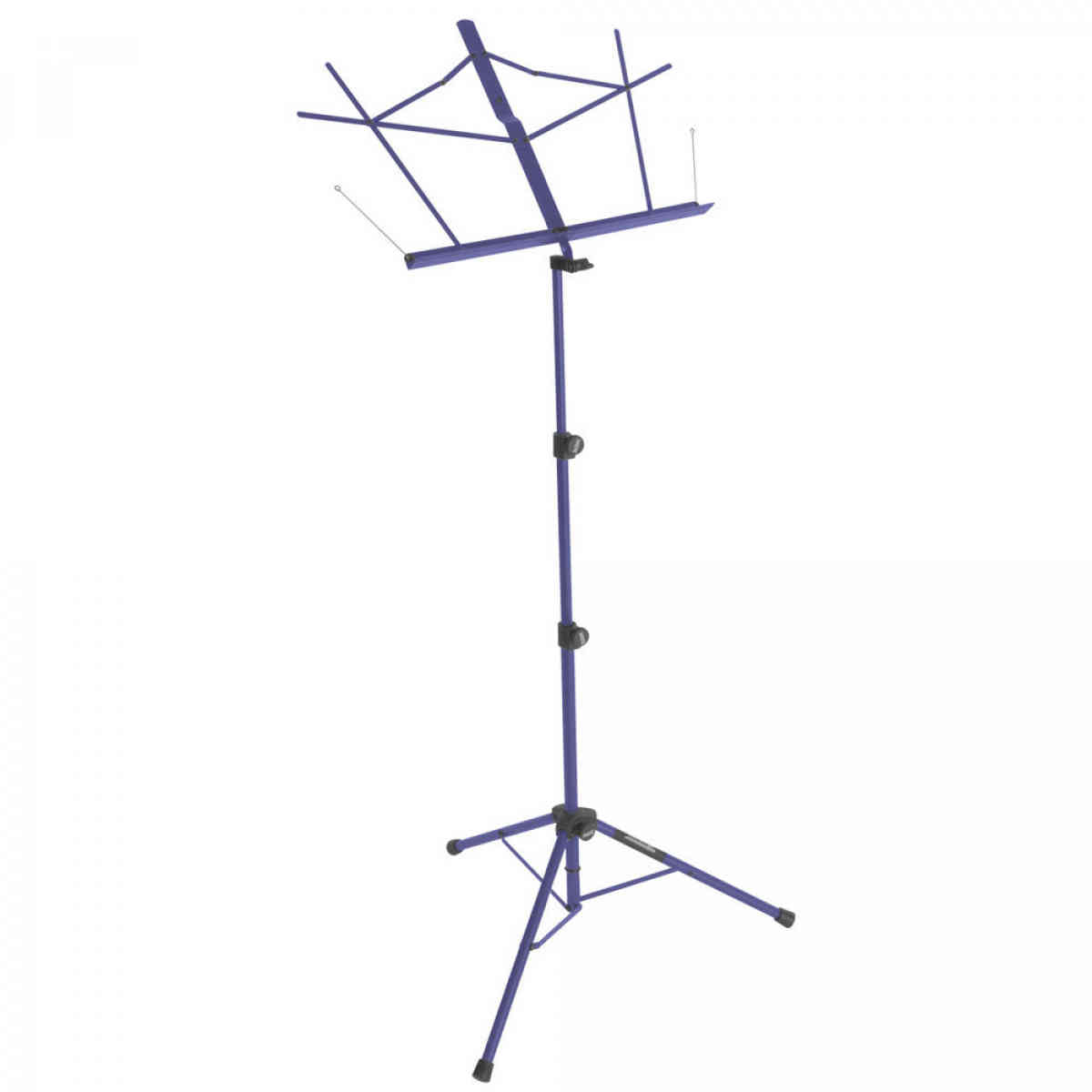 On-Stage SM7222DBB Tripod-Base Sheet Music Stand with Bag - Blue