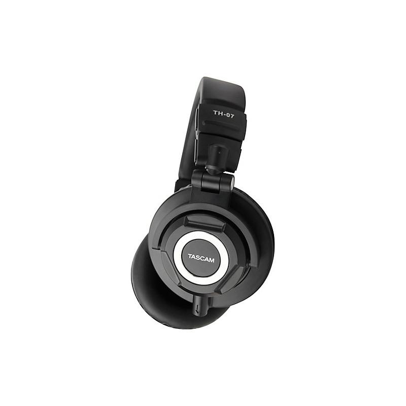 Tascam TH-07 High Definition Monitor Headphones Black