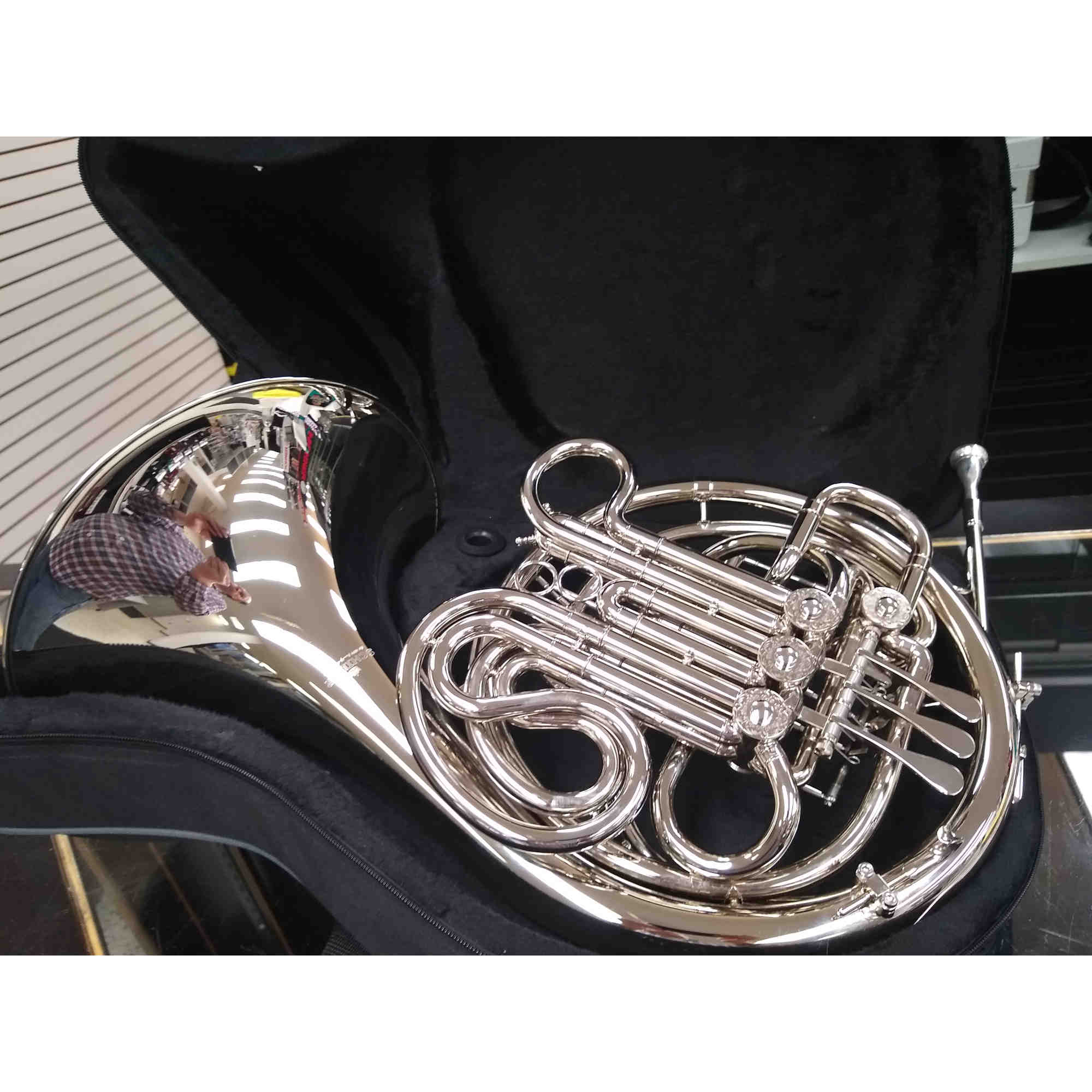 Schiller Elite French Horn Nickel Silver Finish