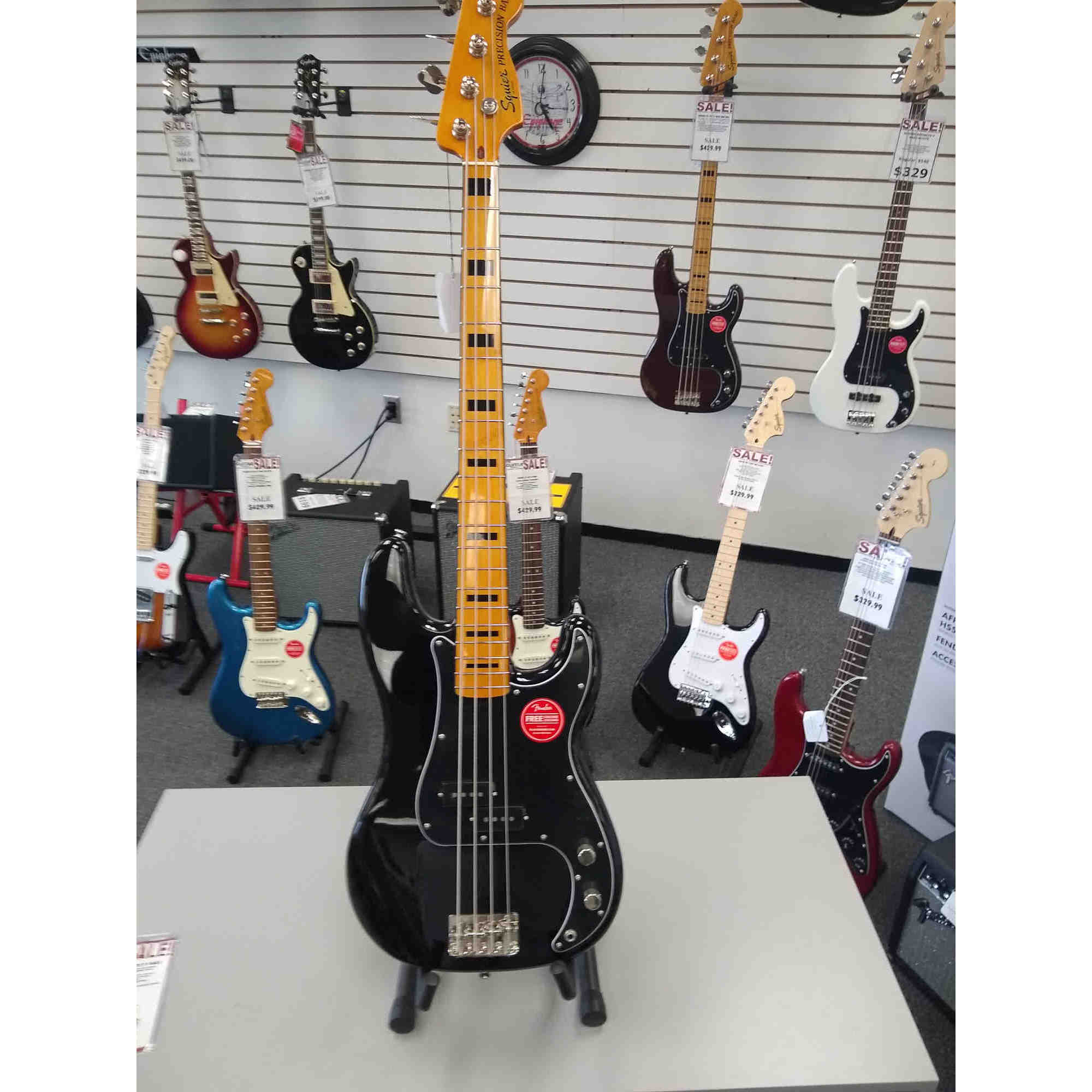 Squier Classic Vibe Precision Bass 70's 4-string Bass
