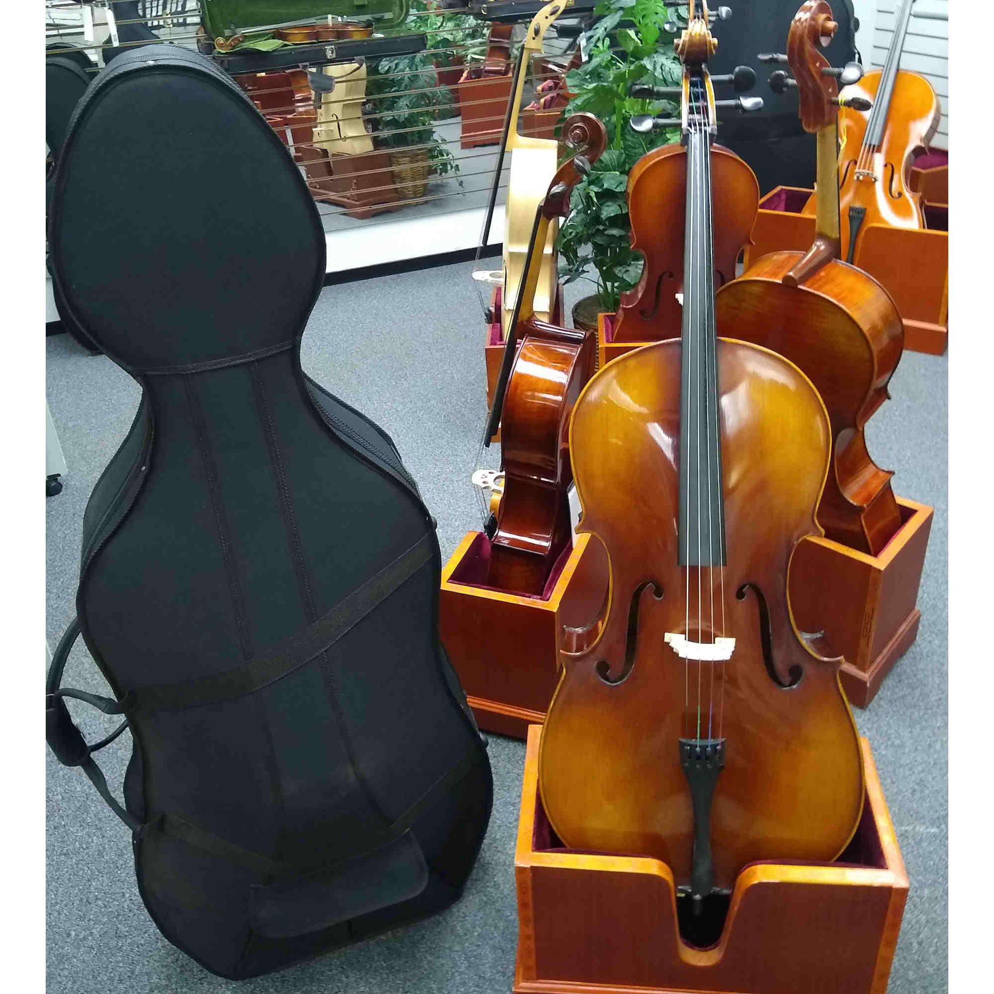 Vienna Strings Hamburg Handcraft Cello Natural Spirit Varnish