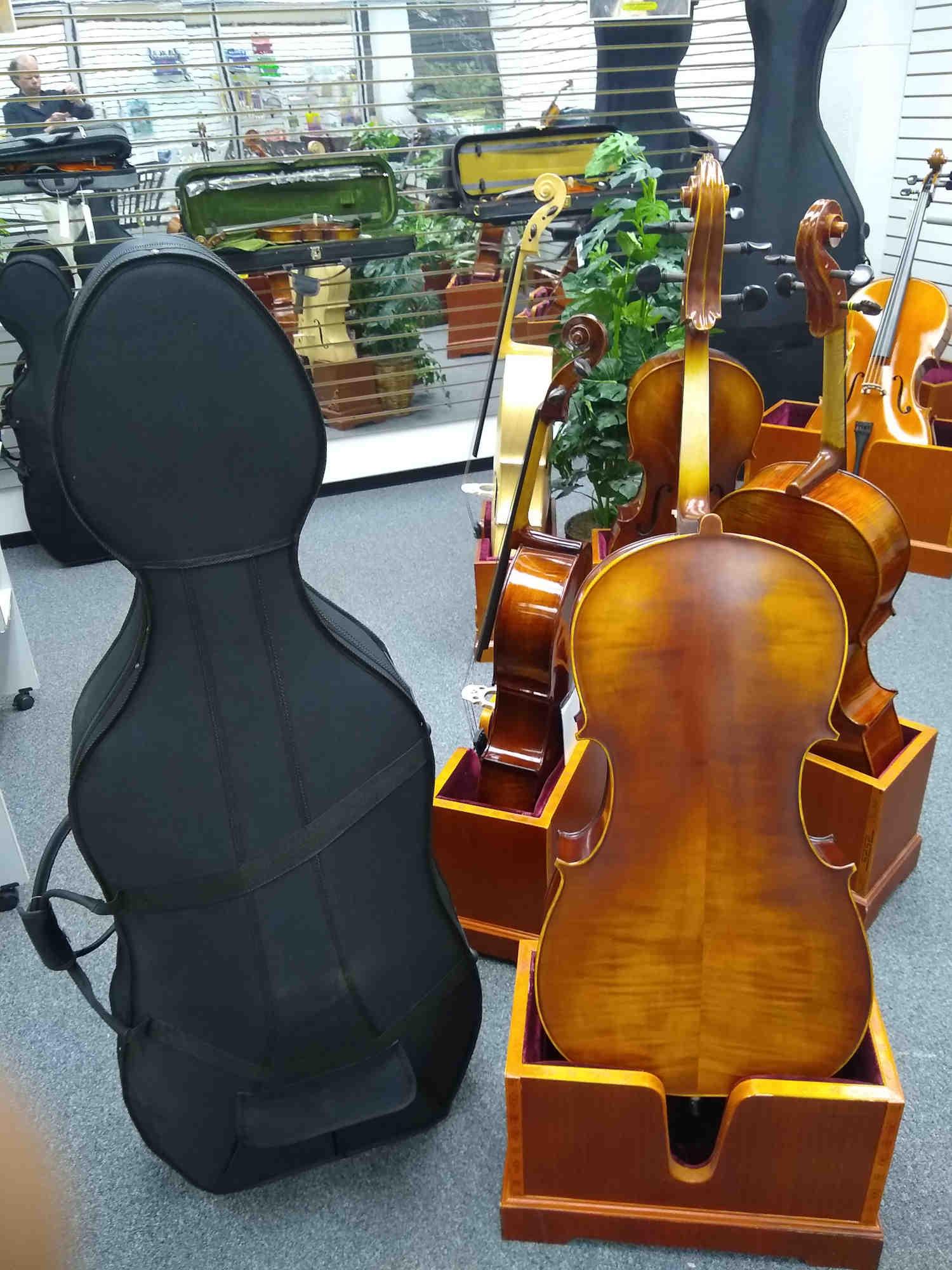 Vienna Strings Munich Cello 4/4 New For 2021