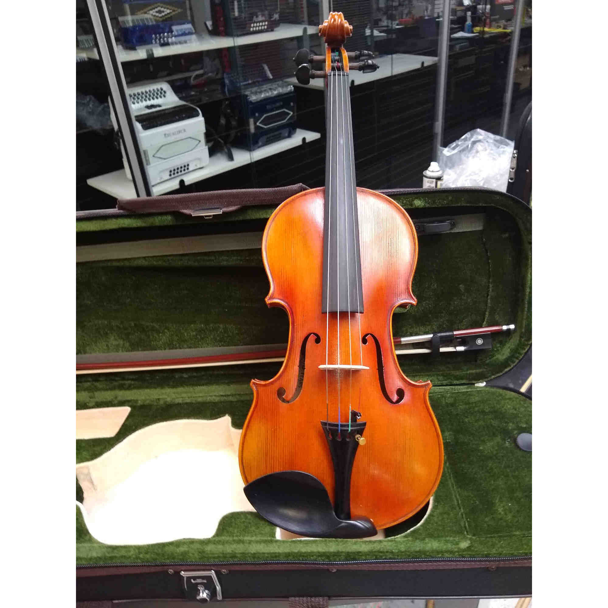 Vienna Strings Munich Violin 4/4 New For 2021 Cherry Stain