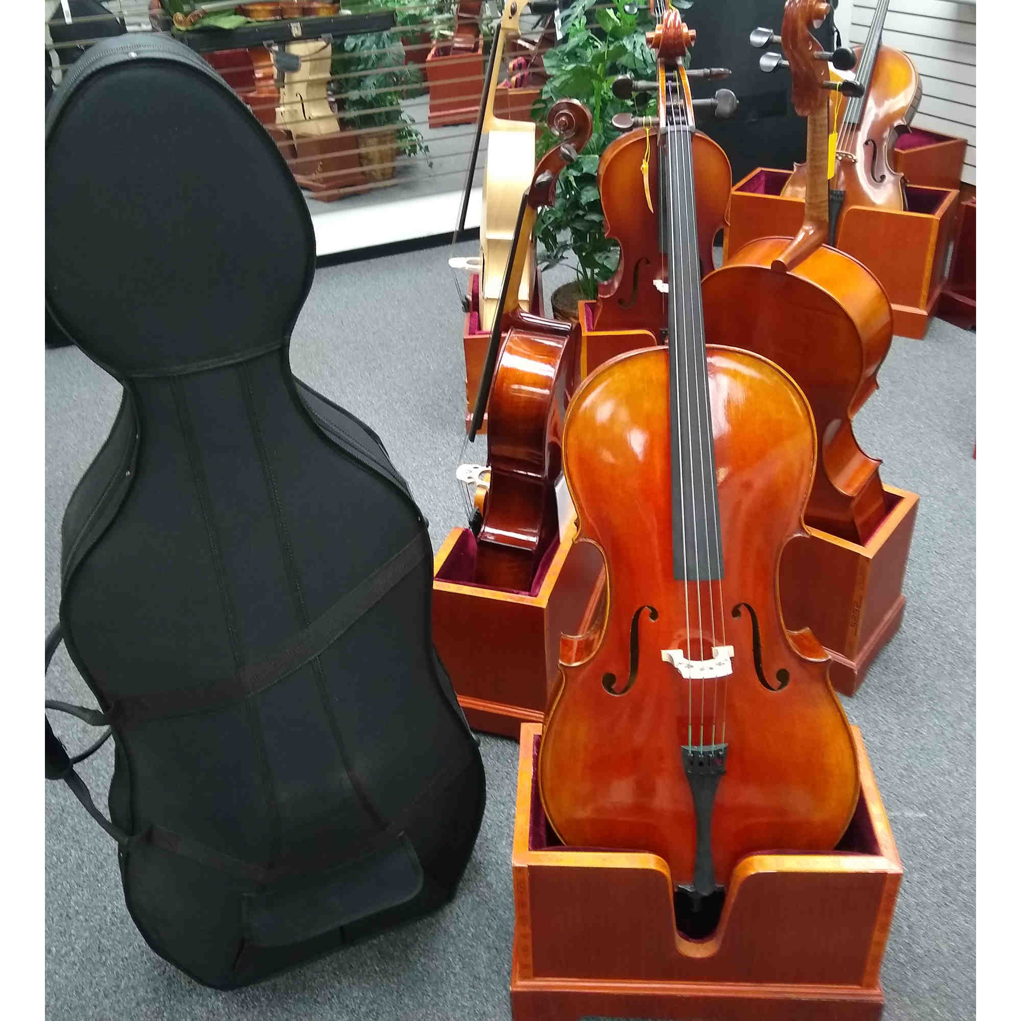 Vienna Strings Old Berlin 4/4 Cello New For 2021