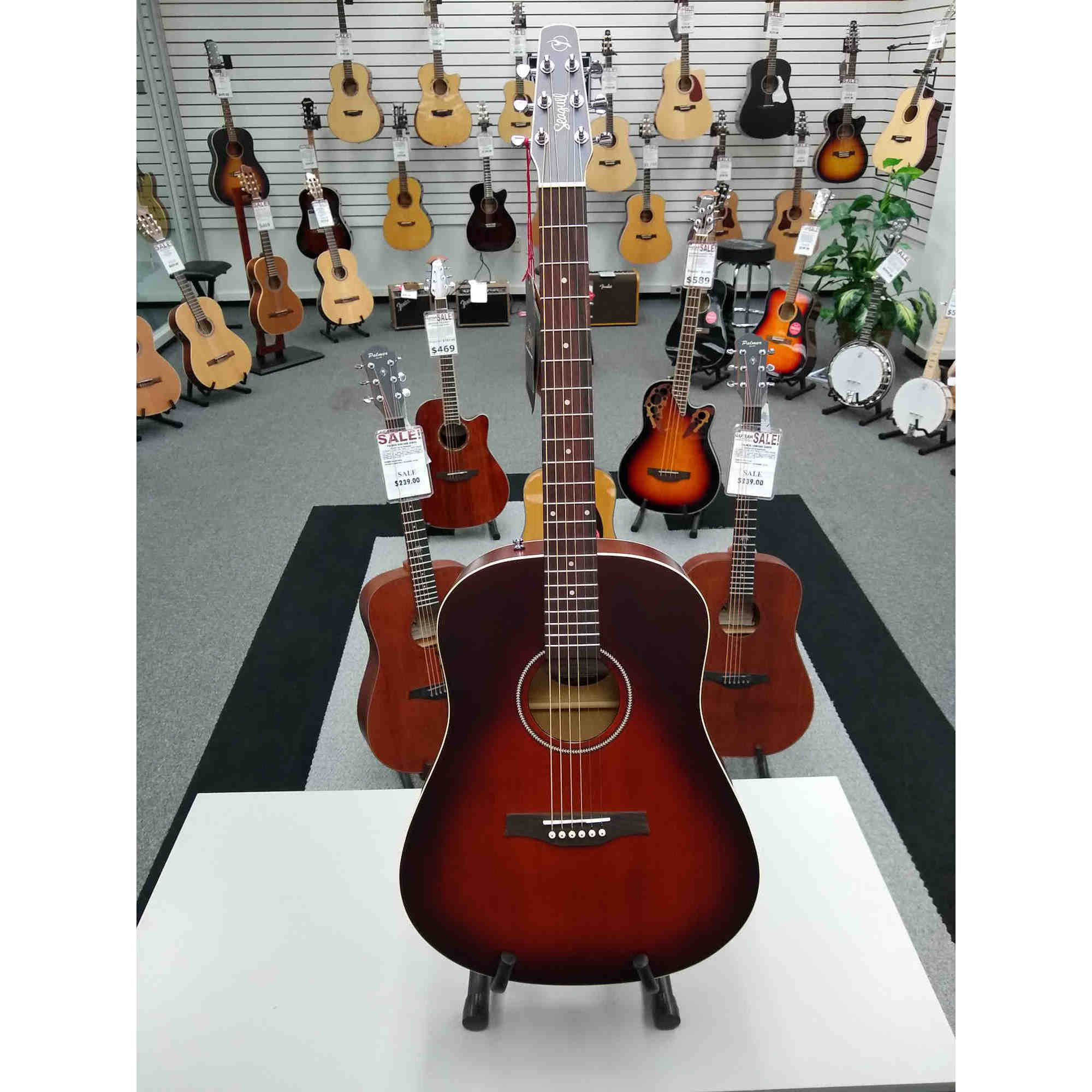 Seagull S6 Burnt Umber With Quantum I Pickup