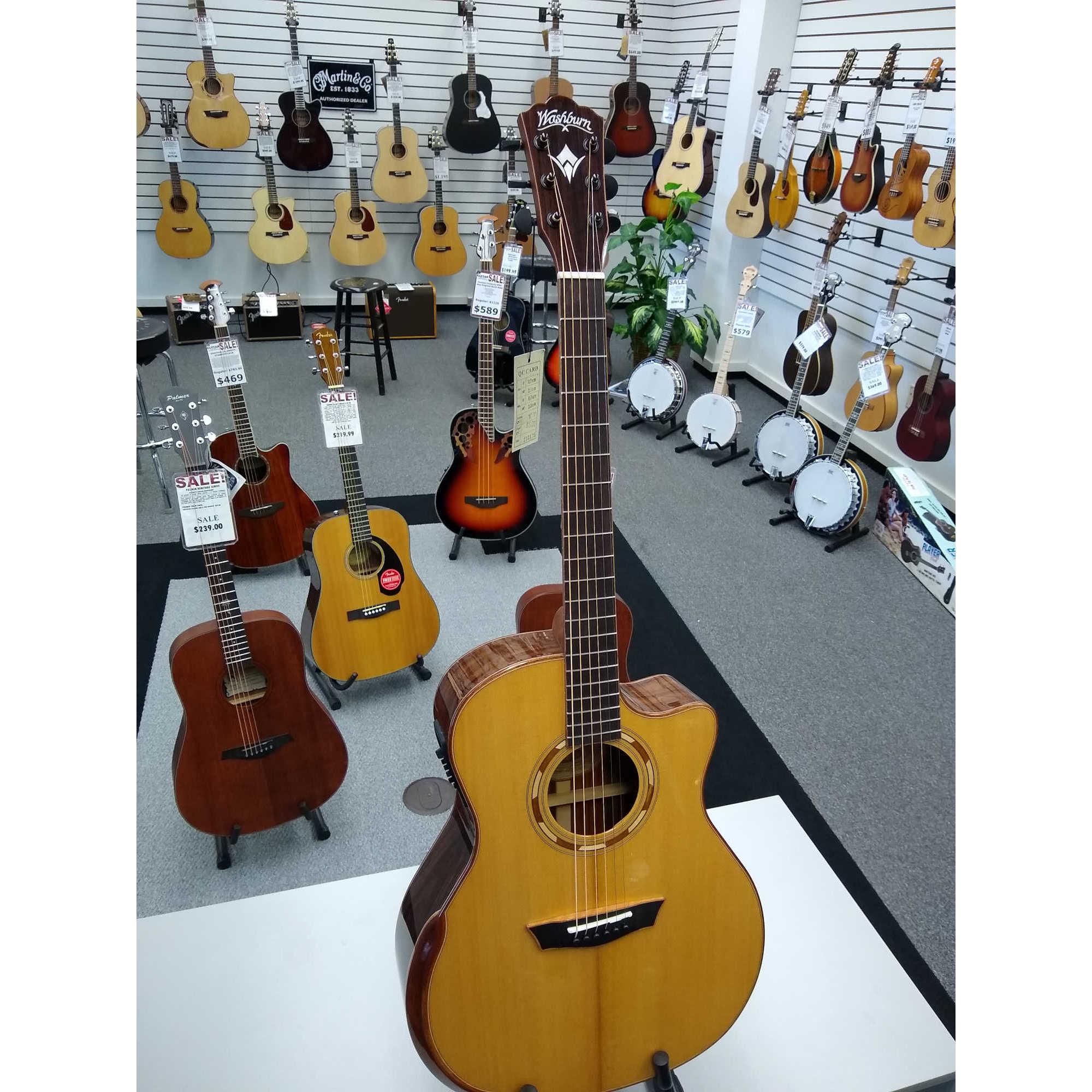 Washburn G25SCE Comfort Series Guitar