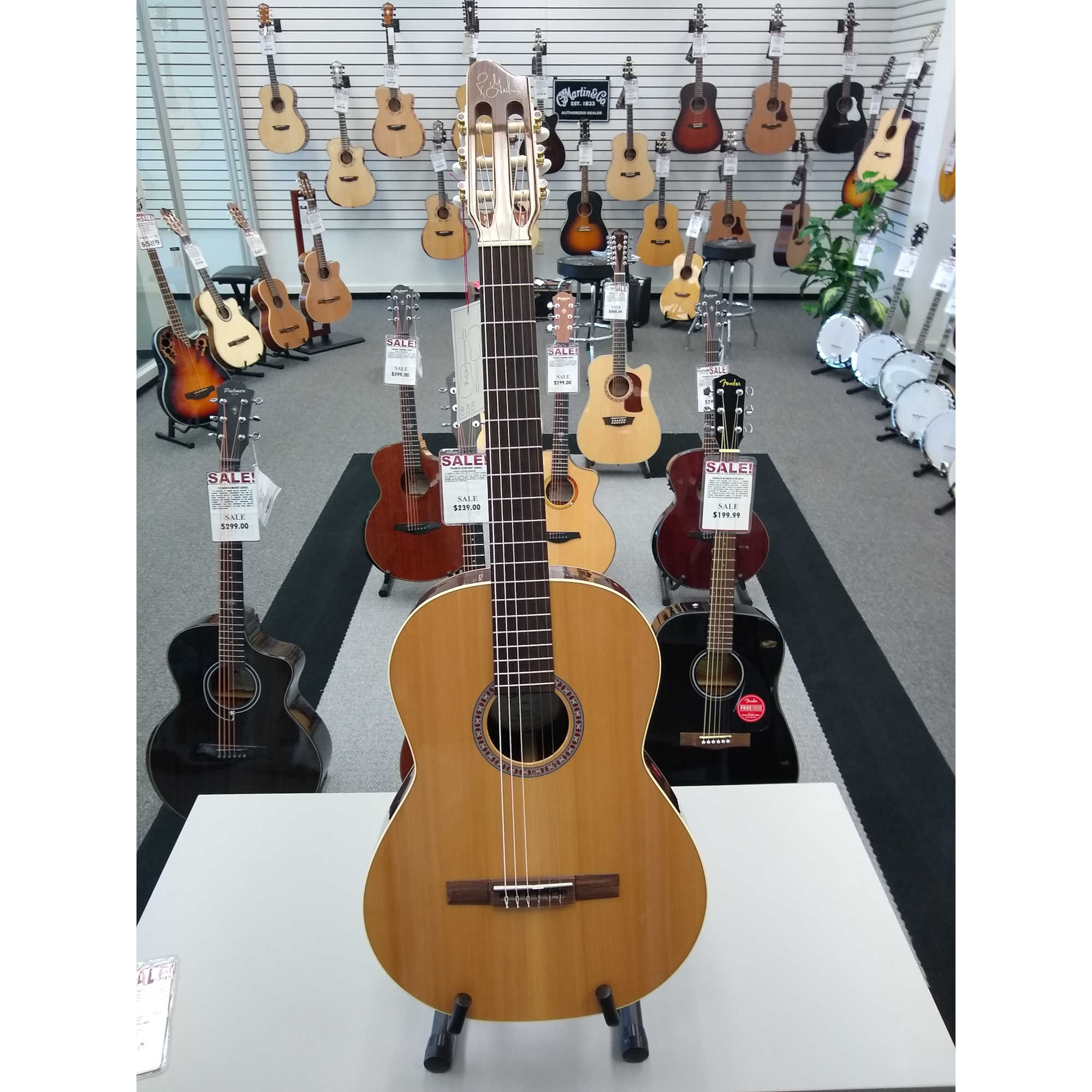 Godin Collection Classical Guitar - Canadian Wild Cherry