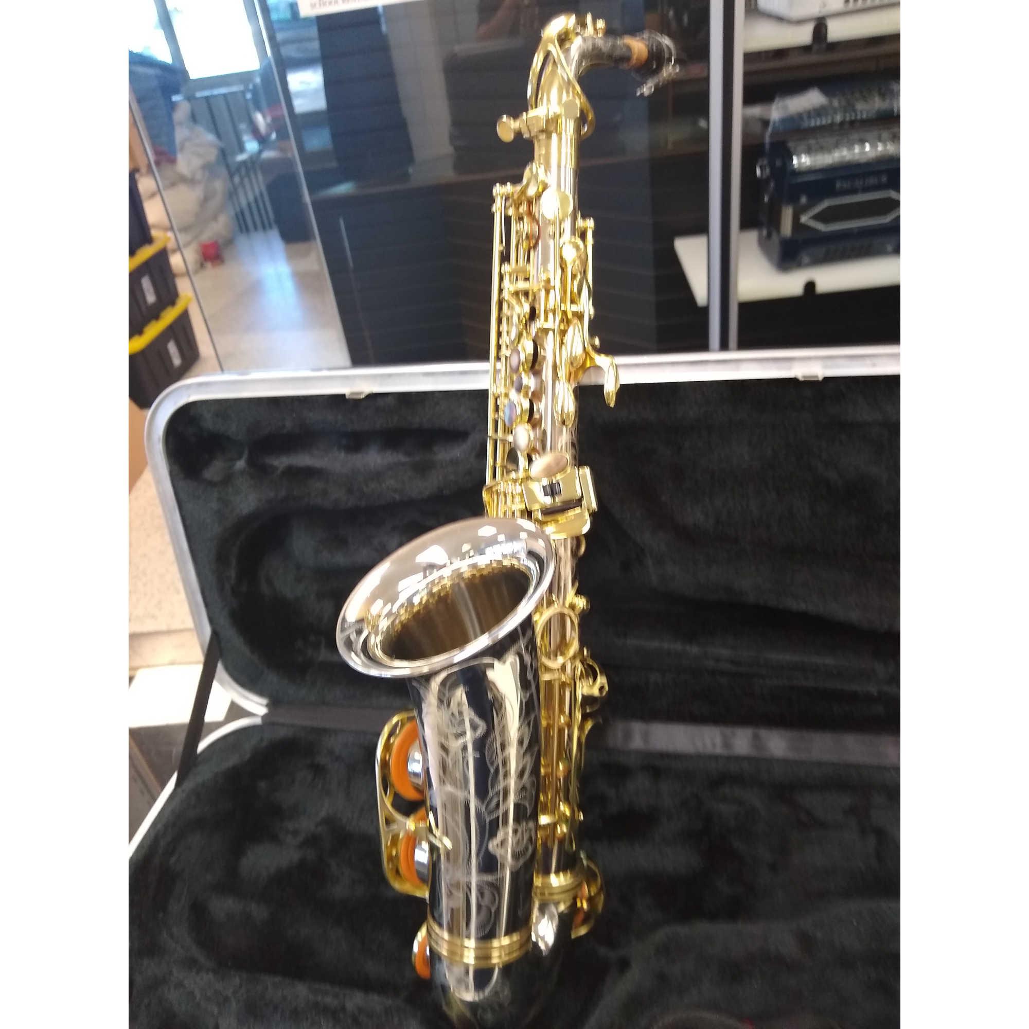 Schiller Elite V Alto Saxophone Silver Plated/Gold
