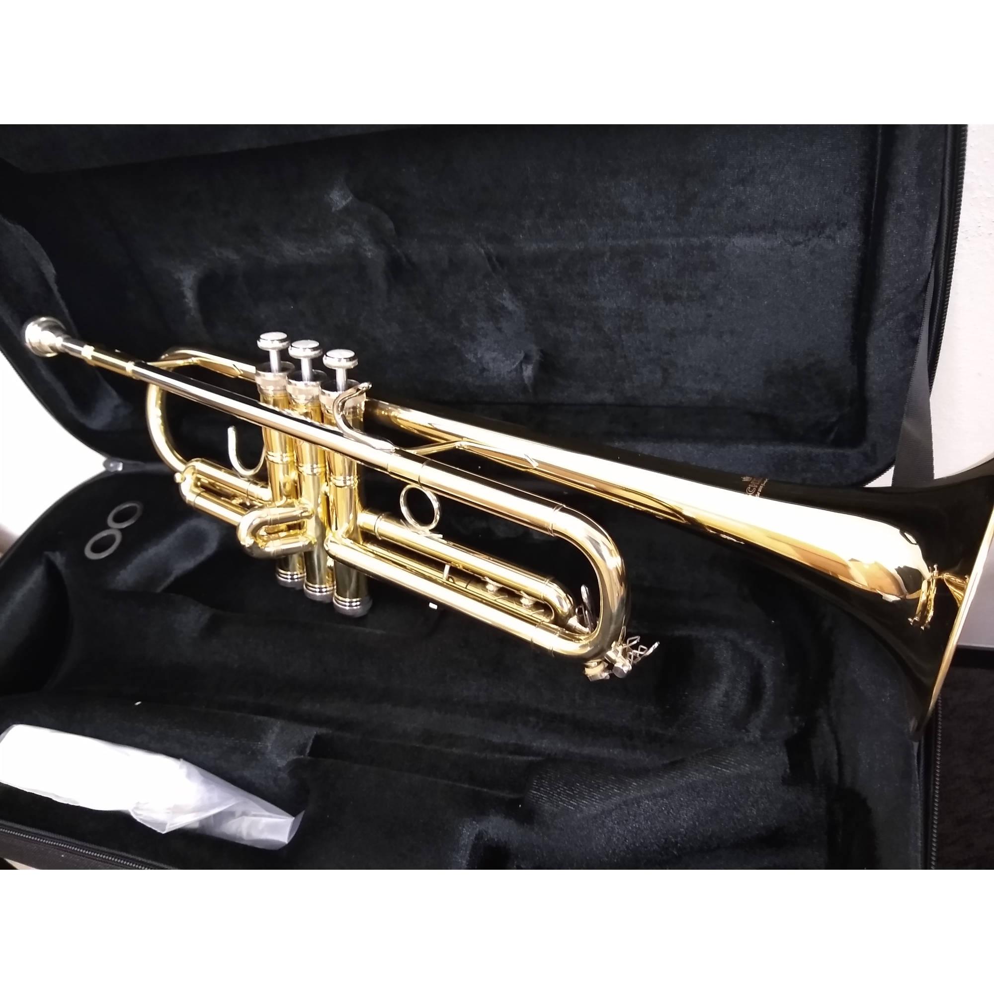 Schiller Riviera Trumpet Gold Lacquer