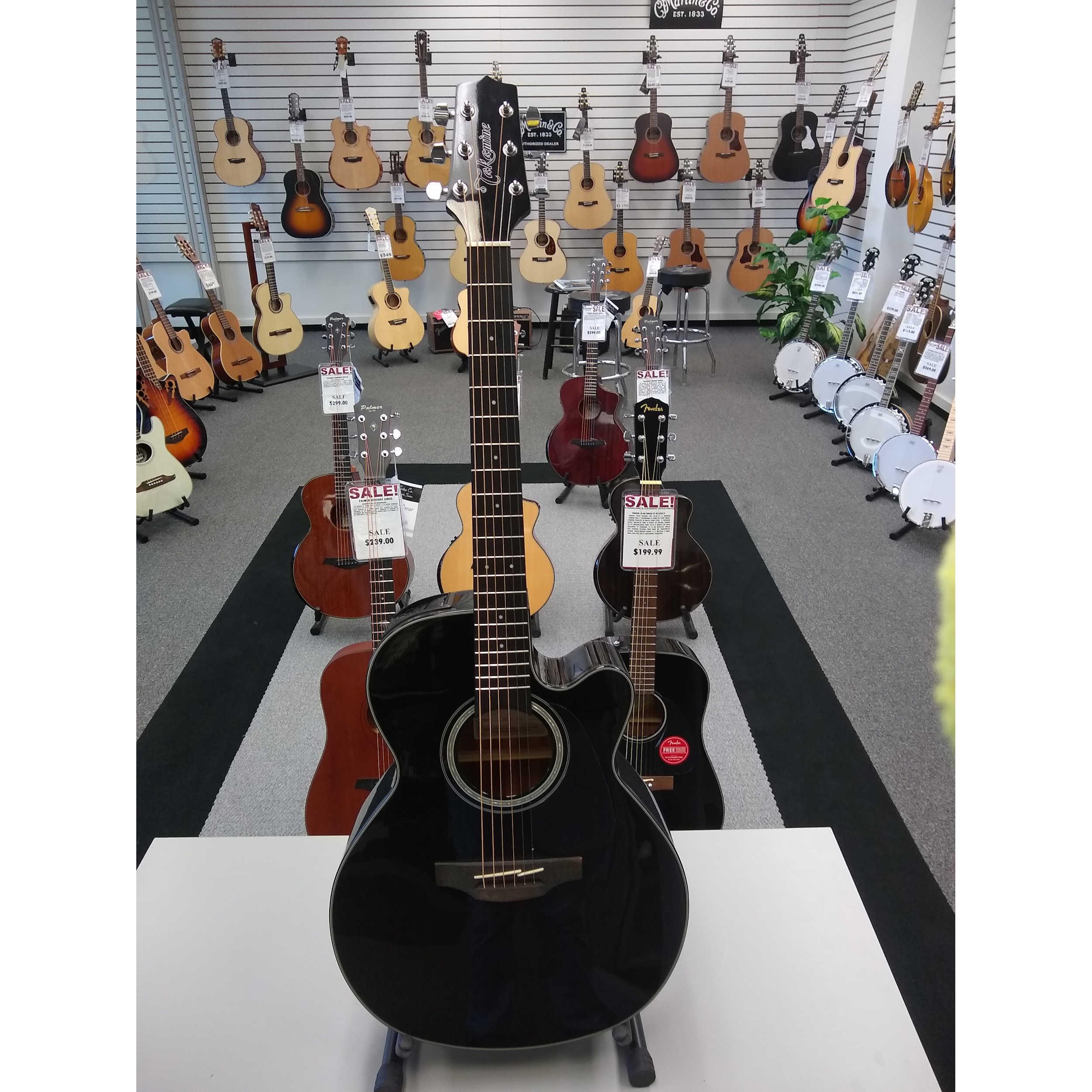 Takamine GF30CE Acoustic Guitar - Black