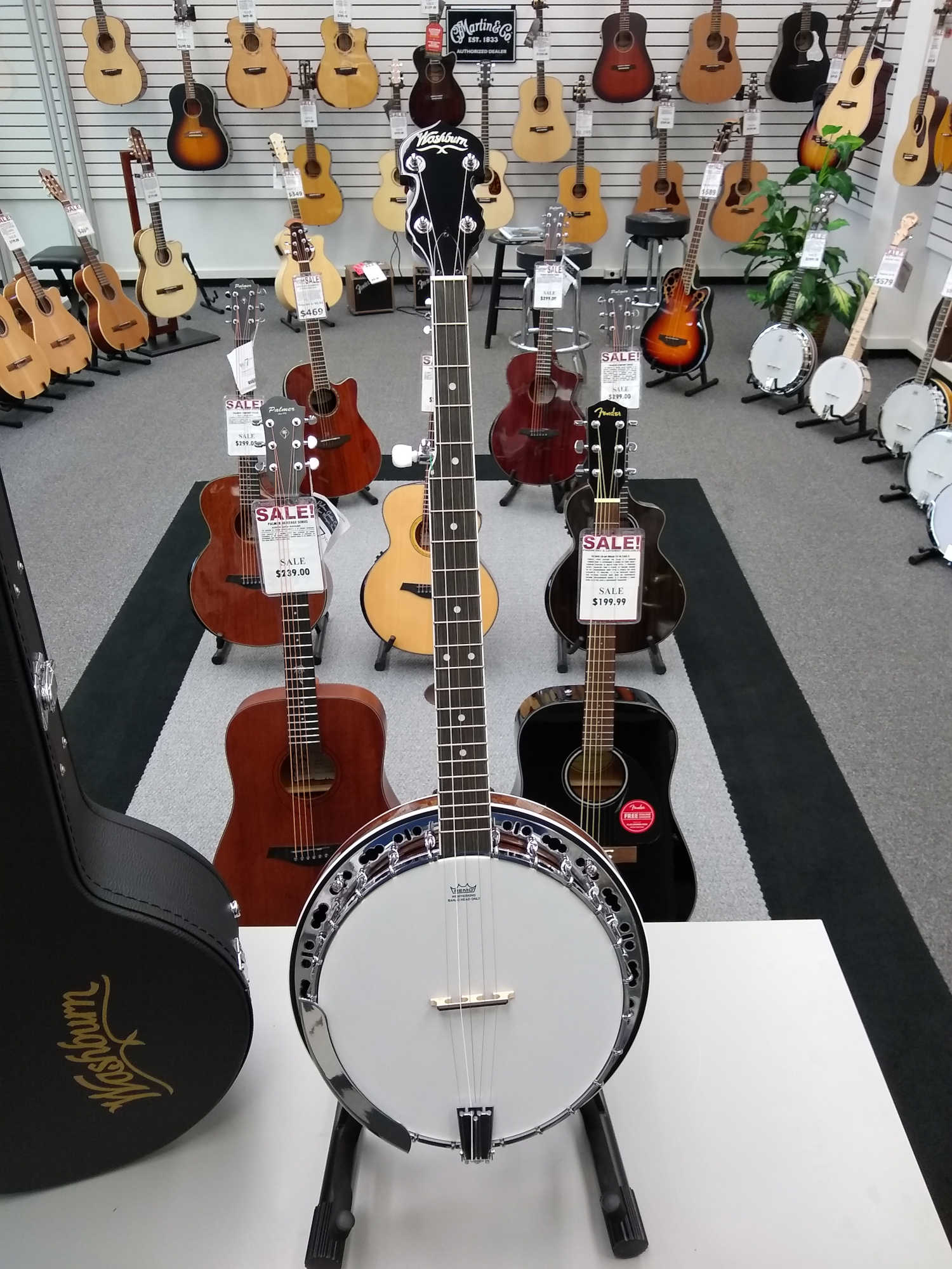 Washburn B11 Banjo