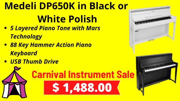 Medeli DP650K Digital Pianos