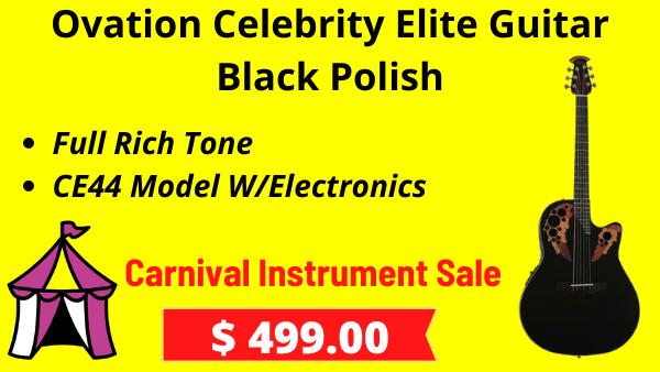 Ovation-Celebrity-Elite-Guitar-Black-Polish