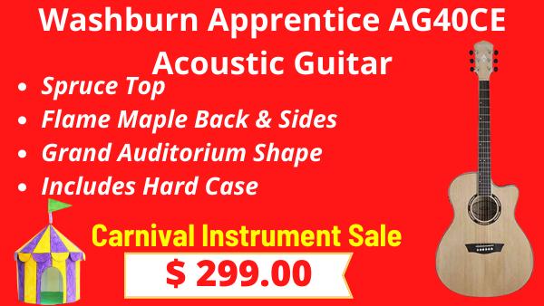 Washburn-Apprentice-AG40CE-Acoustic-Guitar