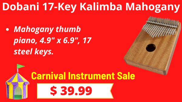 Dobani-17-Key-Kalimba-Mahogany