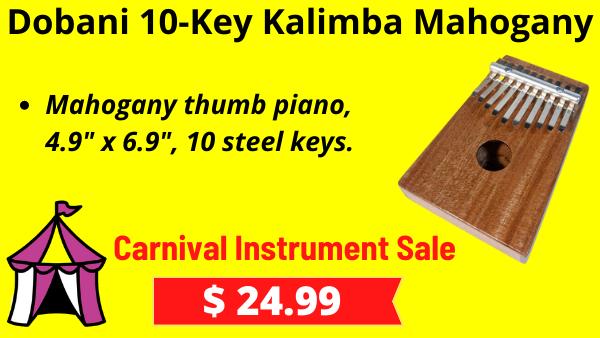 Dobani-10-Key-Kalimba-Mahogany