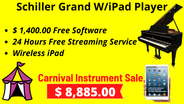 Schiller Grand W/iPad Player