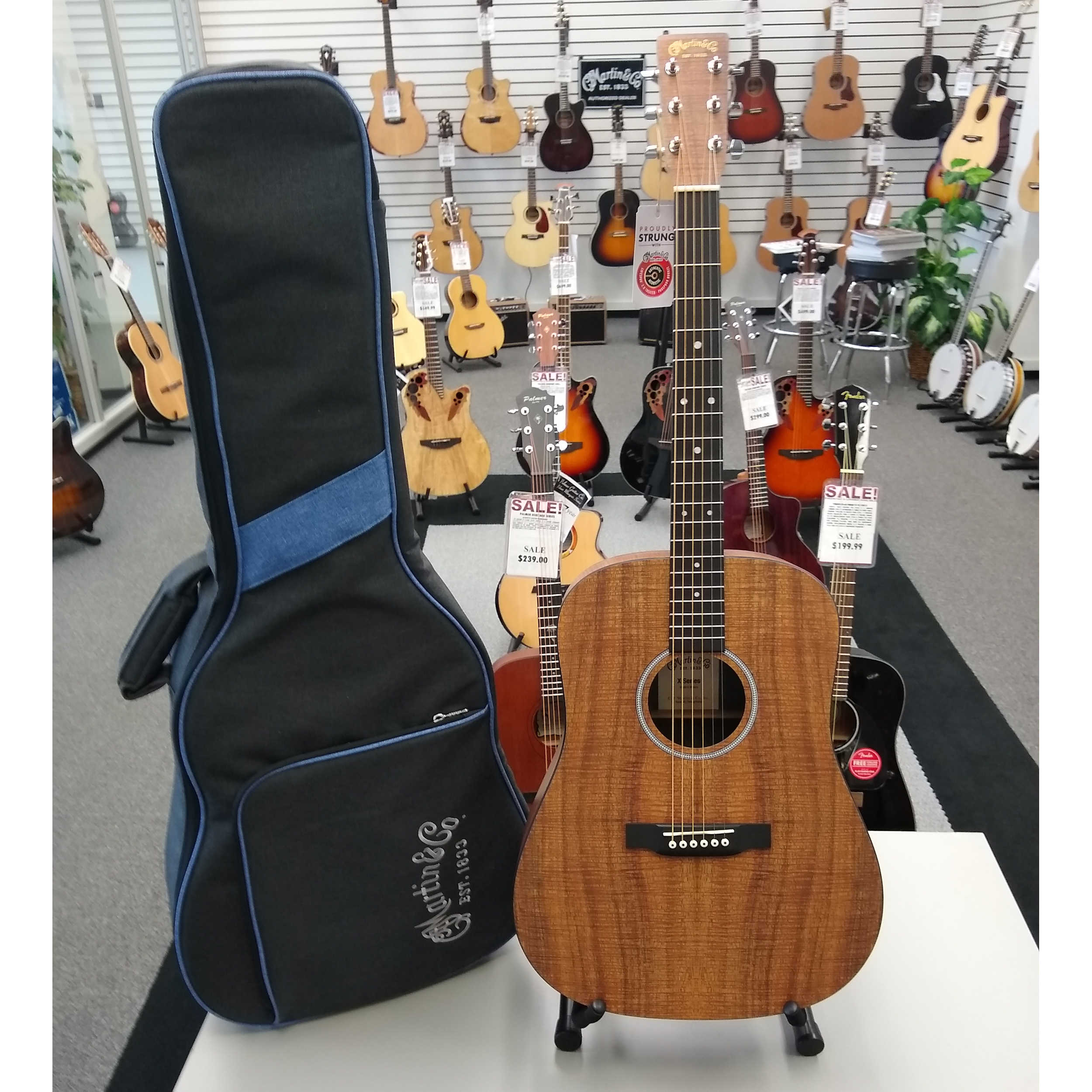 Martin DX1E KOA Acoustic Guitar
