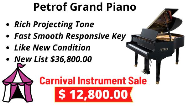 Petrof Model III Grand Piano