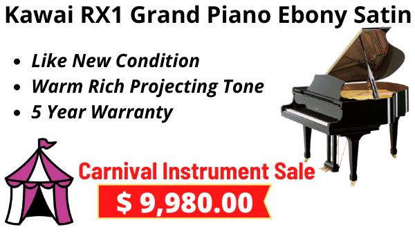 kawai RX1 Grand Piano