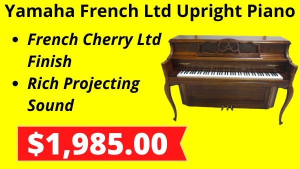 Yamaha French Ltd Upright Piano