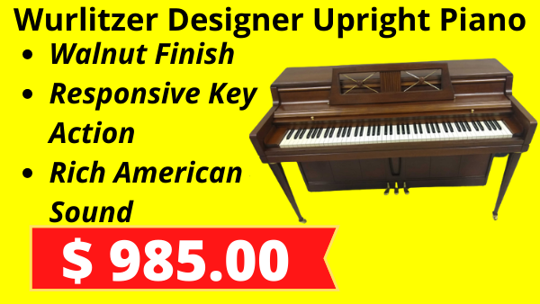 Wurtilizer Designer Upright Piano