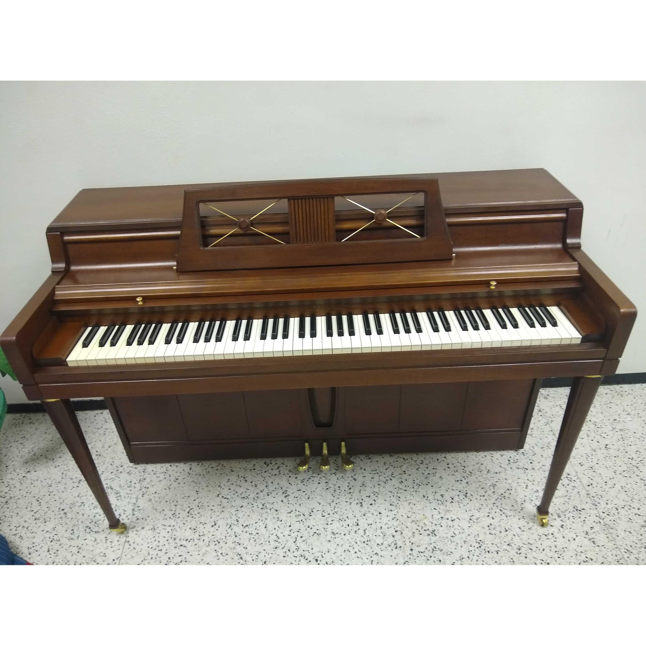 Wurlitzer Designer Piano Walnut Finish
