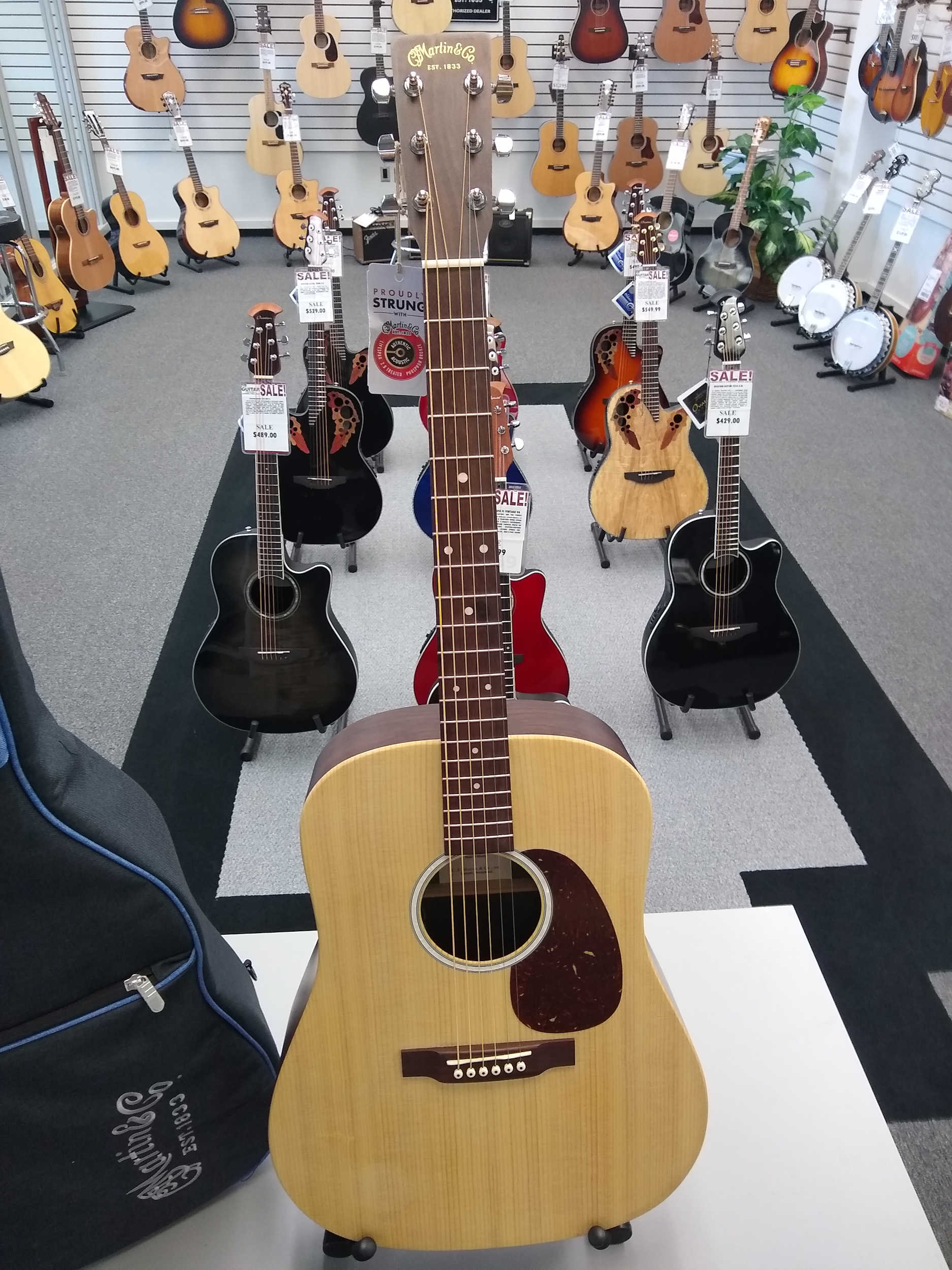 Martin D-X2E Rosewood Acoustic Electric Guitar