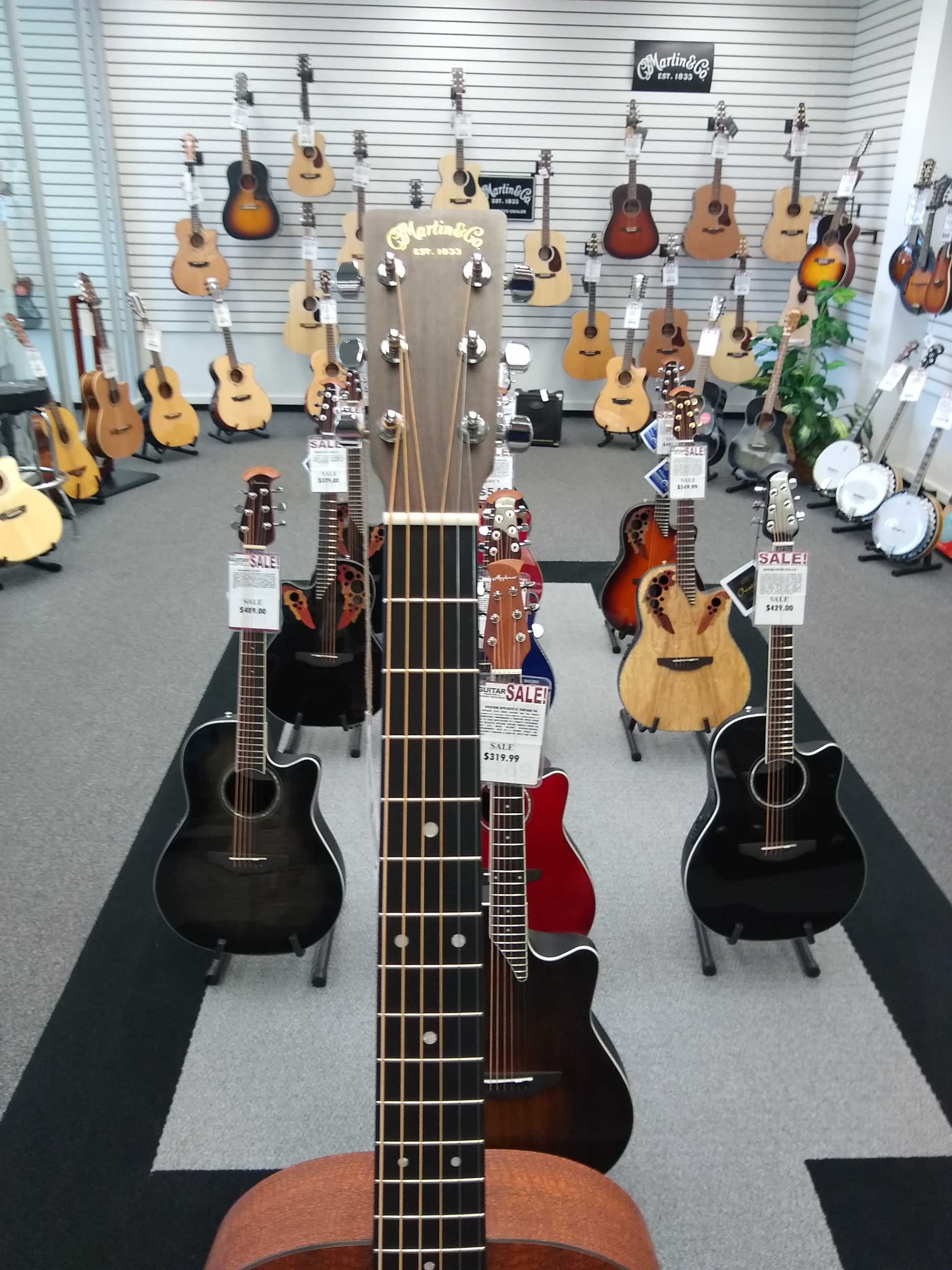 Martin OX2MAE Acoustic Electric Guitar
