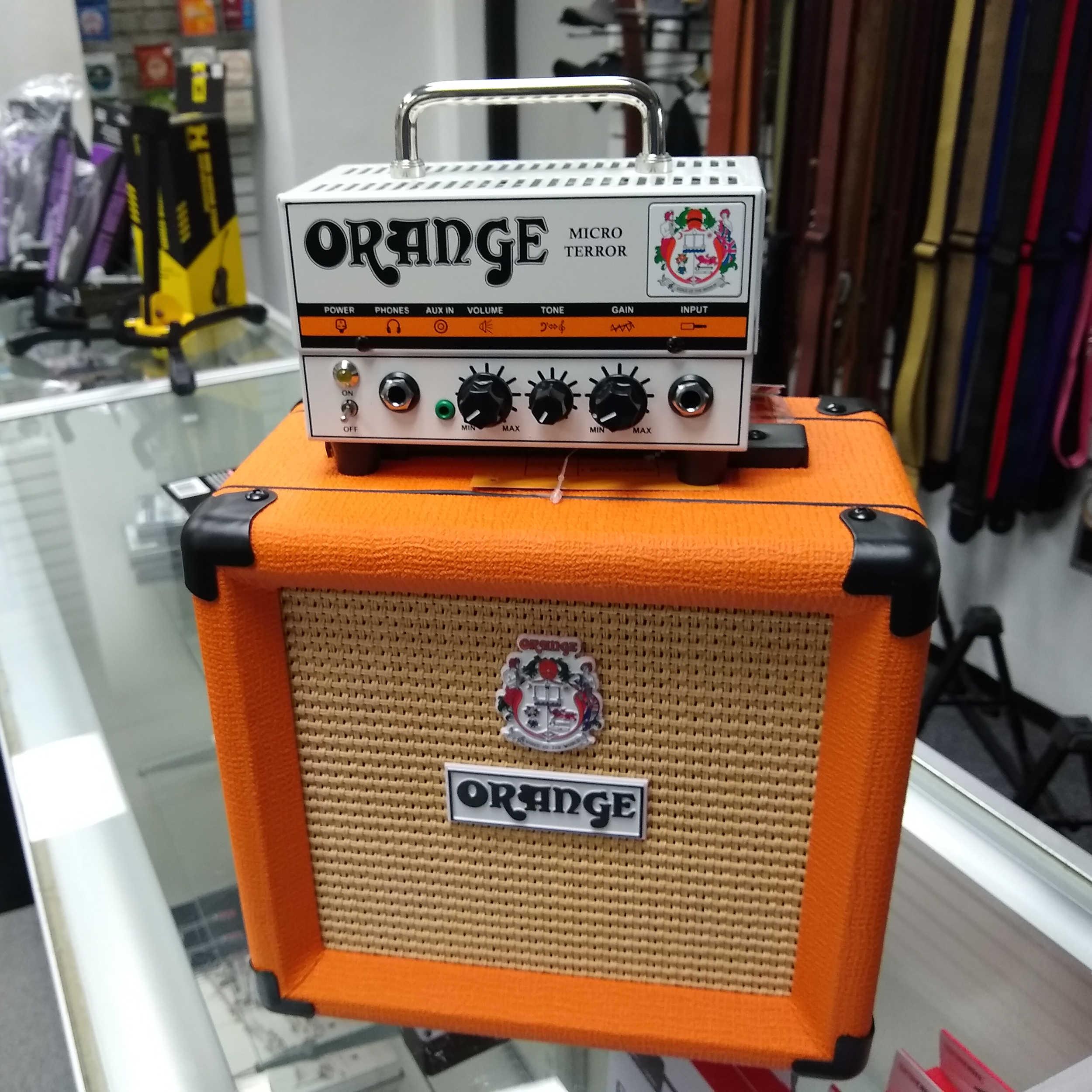 Orange Micro Terror Guitar Amplifier With Cabinet