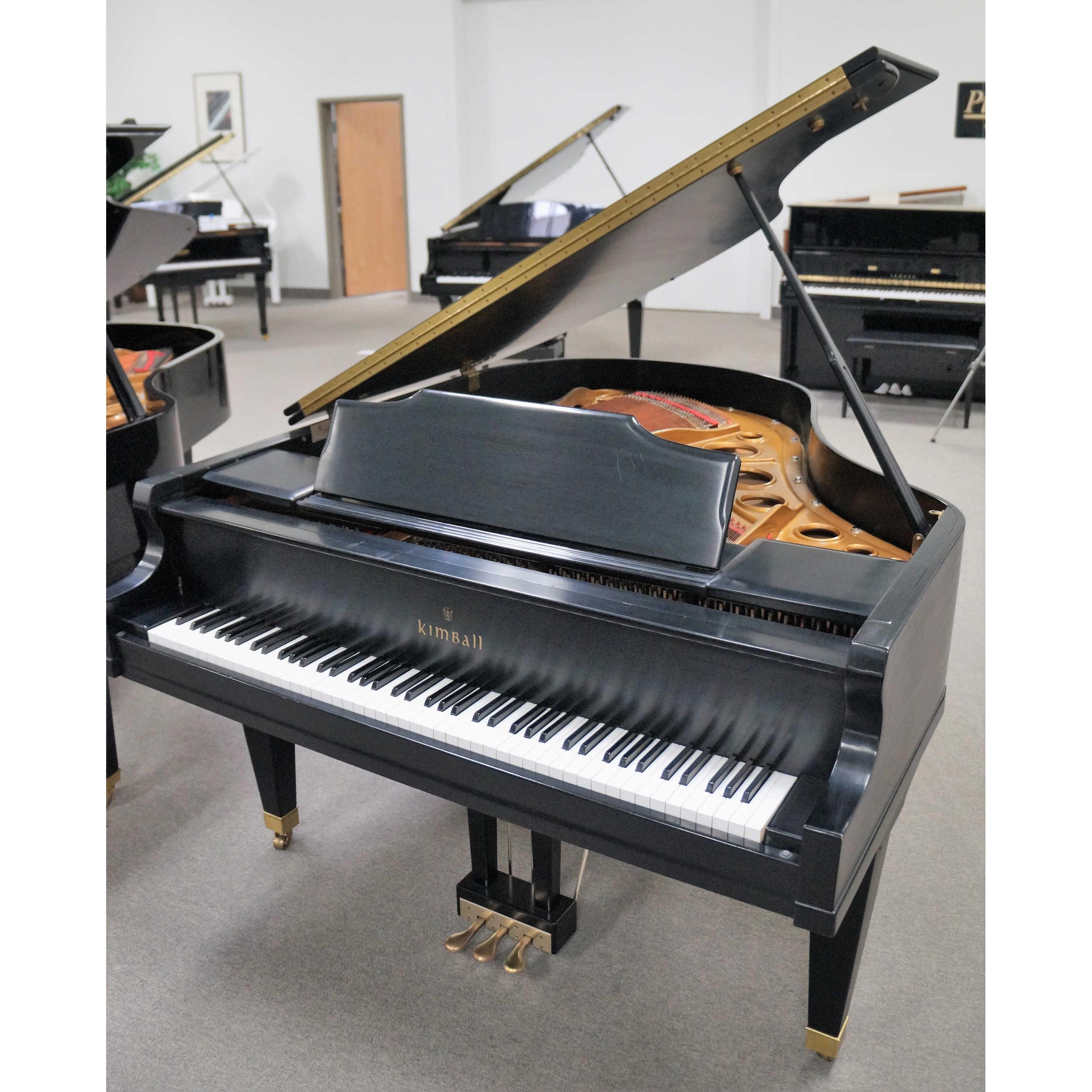 Kimball Grand Piano Ebony Satin