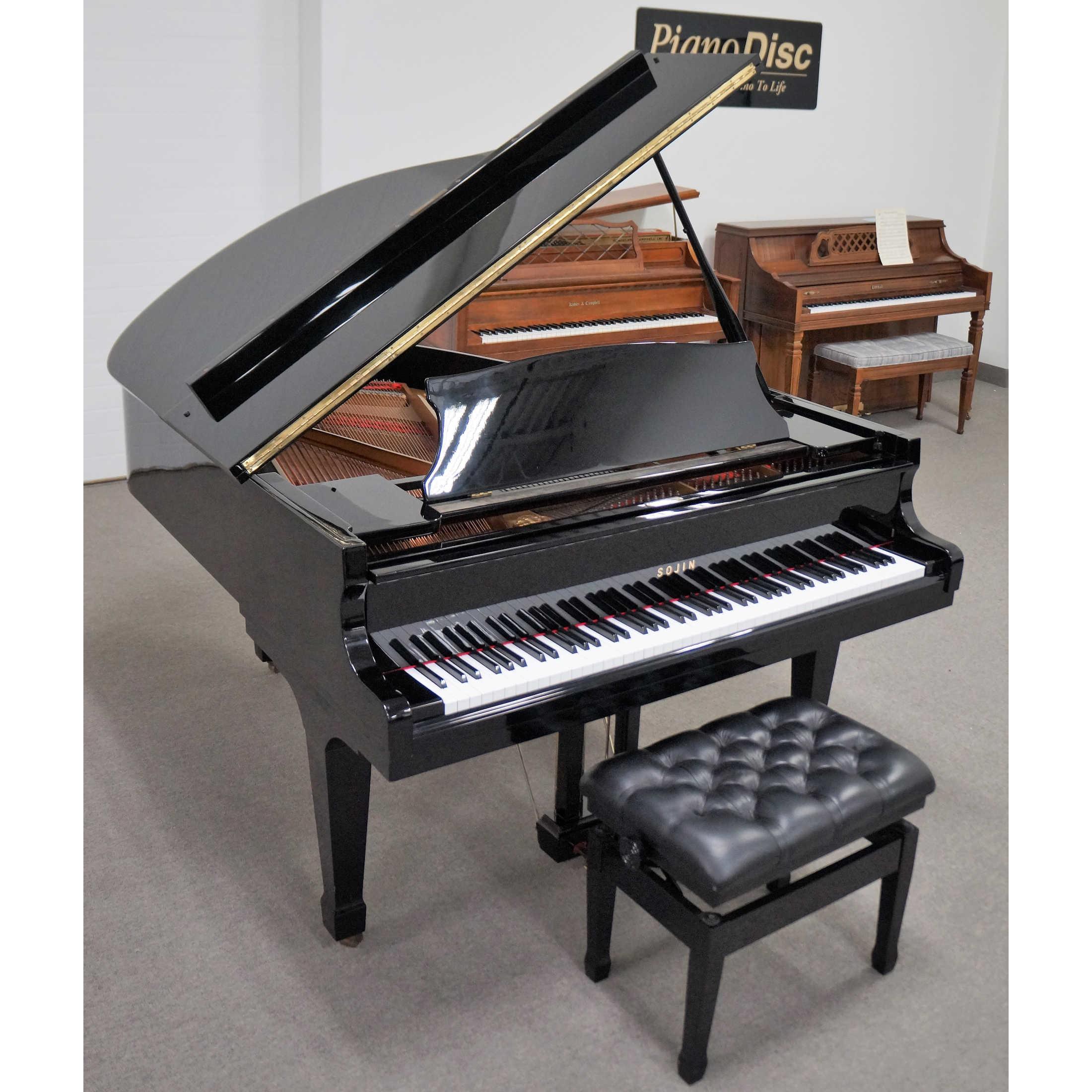 Sojin DG2 Grand Piano Black Polish Finish