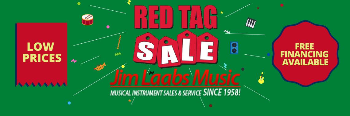 Jimlaabs Music Store Red Tag Sale