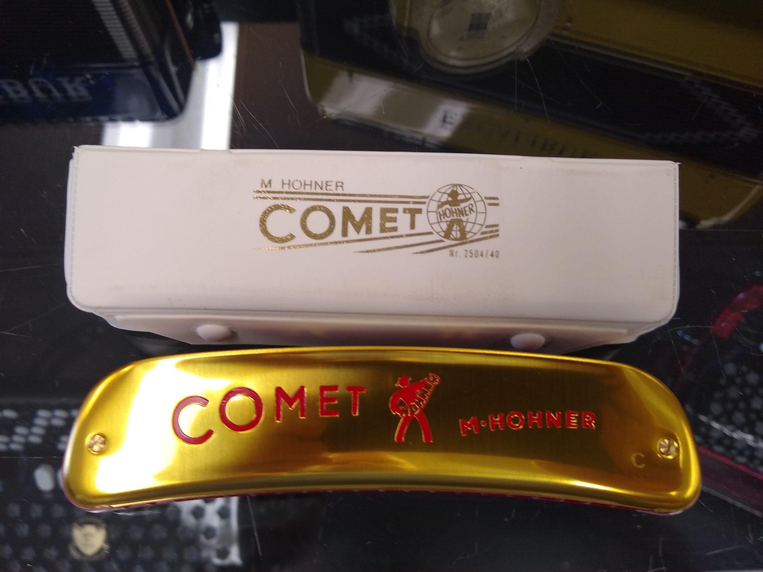 Hohner D40 Comet Harmonica