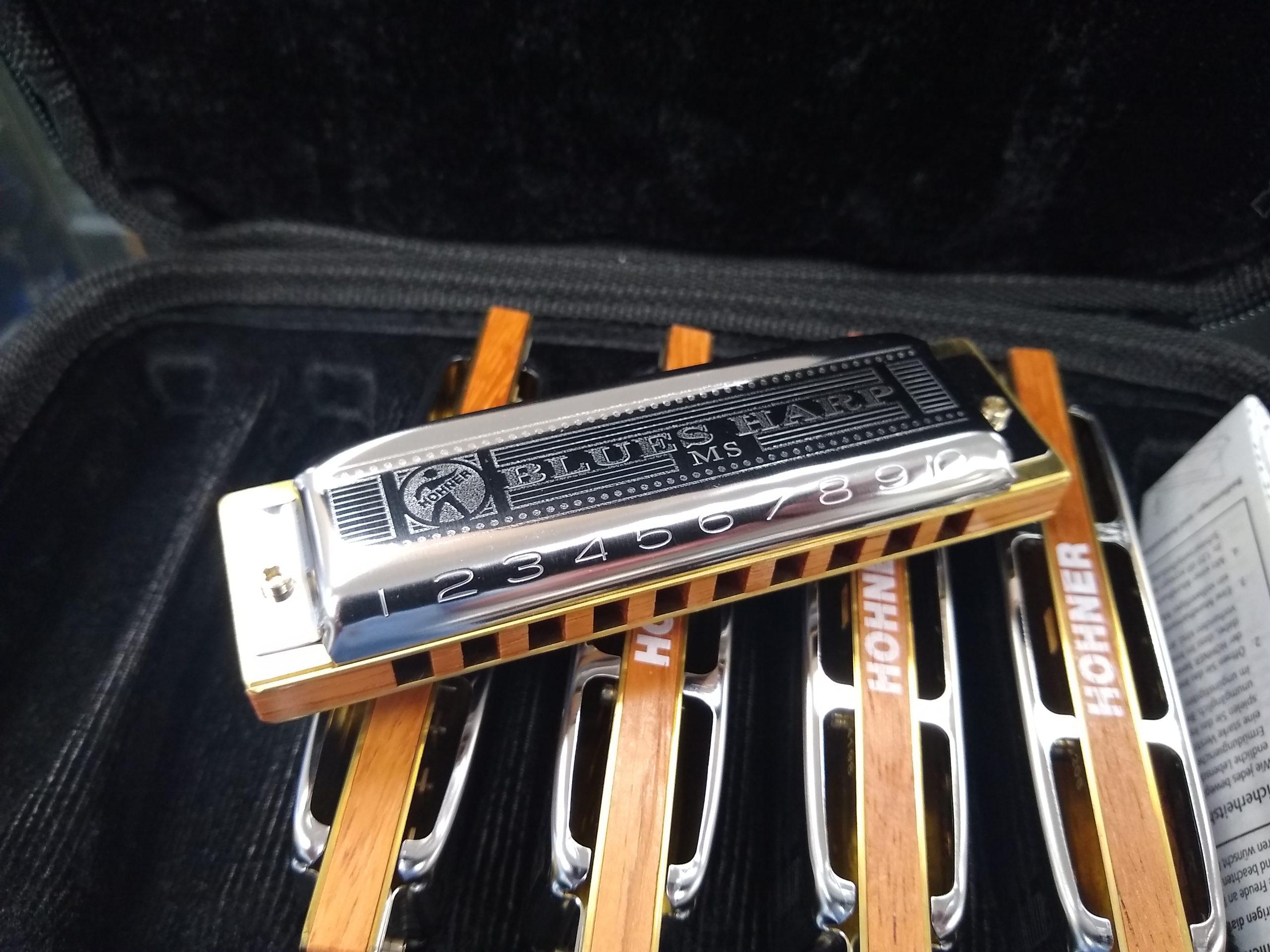 Hohner Blues Harp Harmonica 5 Pack